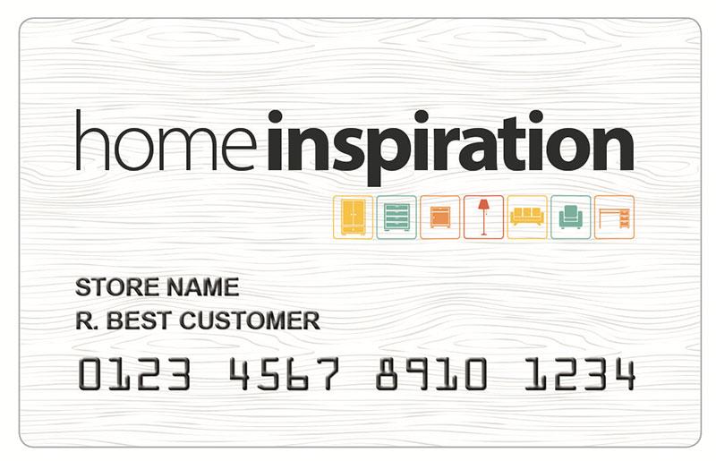 home inspiration credit card